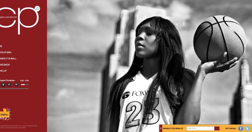 Cappie Pondexter New Site Launched!