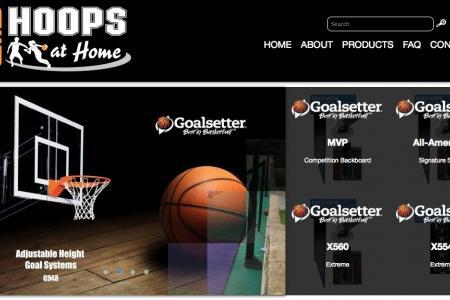 Hoops At Home Branding