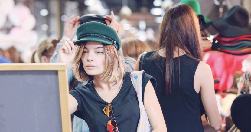 Young-woman-hat-shopping-omaha-nebraska-92west