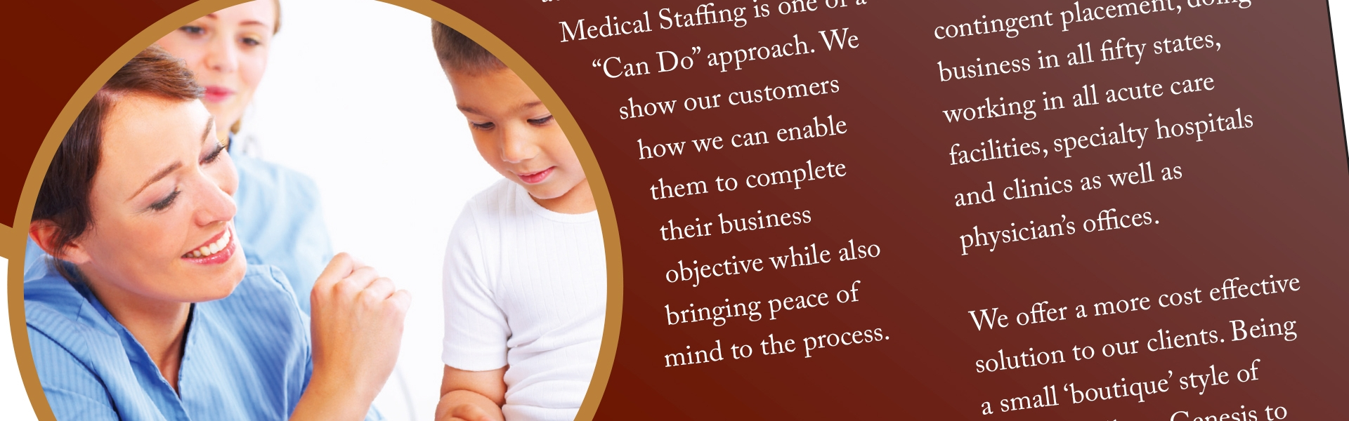 Genesis Medical Staffing Brand Development