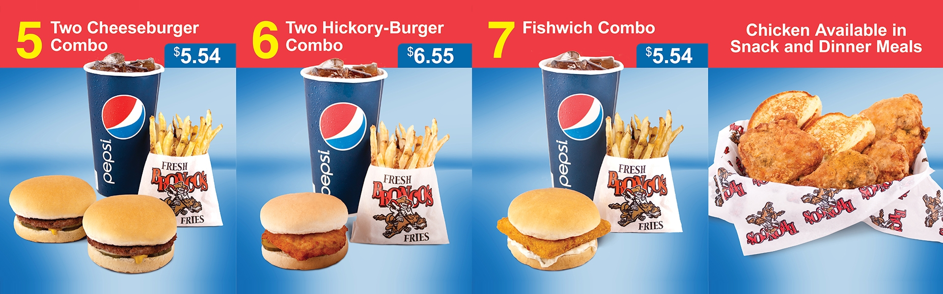 PepsiCo, Inc. and Bronco Burger Food Styling