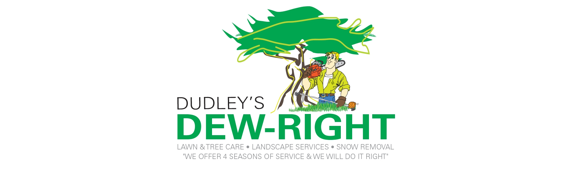 Dudley's Dew Right Logo Design
