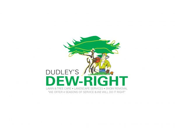 Dudley's Dew Right Logo Design