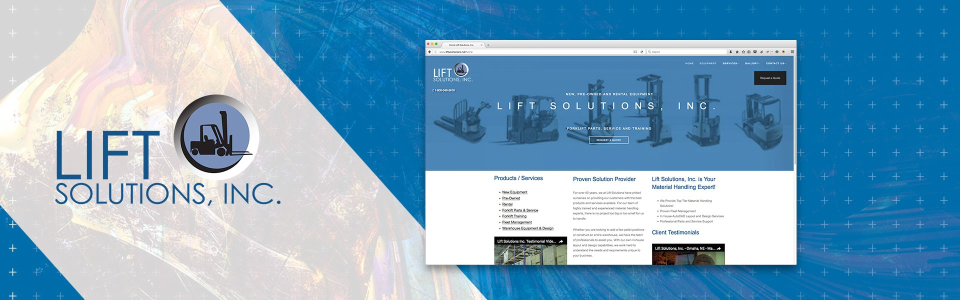 Lift Solutions, Inc. Website